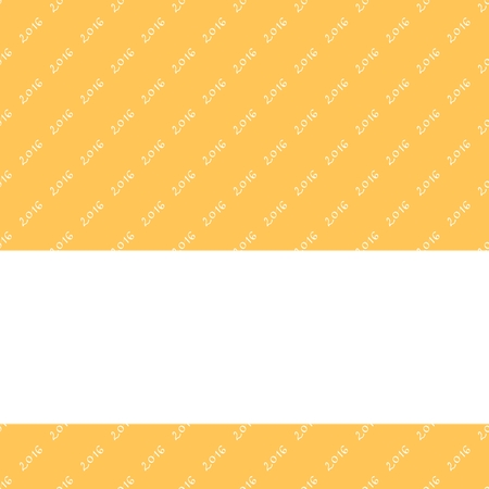 unpretentious: Yellow minimalistic pattern with inscription 2016 usable as calendar cover or poster background