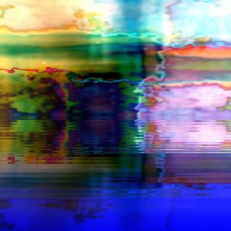 undulating: Abstract messy undulating reflective background  digitally rendered design