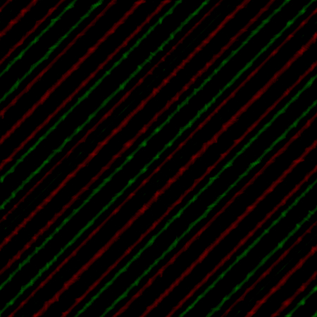 attenuated: Red green black bias pattern