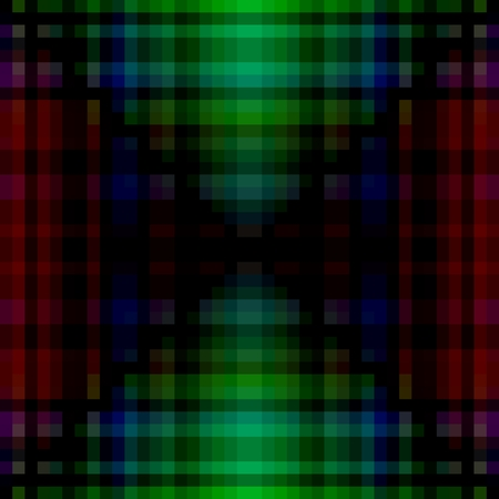 pixelated: Abstract pixelated red blue green black background Stock Photo