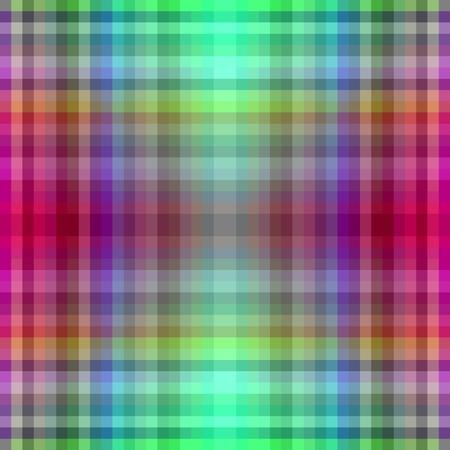 pixelation: Red green checkered geometric shining design