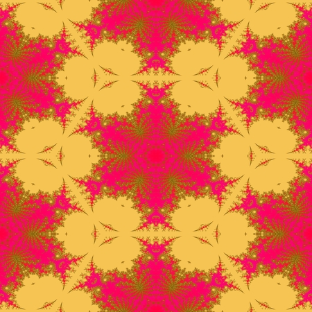 faded: loral decorative red orange faded seamless sidebar