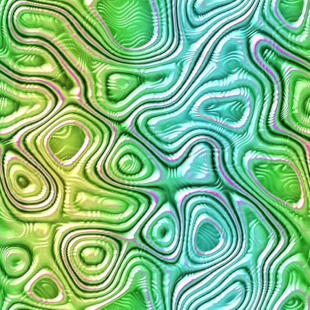 saurian: Blue green seamless fantasy monster skin - digitally rendered pattern Stock Photo