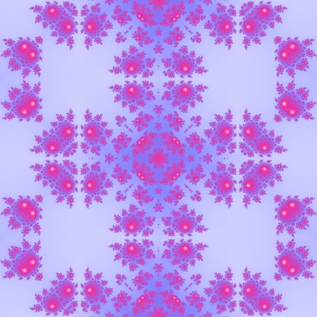 tonality: Pink purple floral decorative seamless oriental pattern in victorian style Stock Photo
