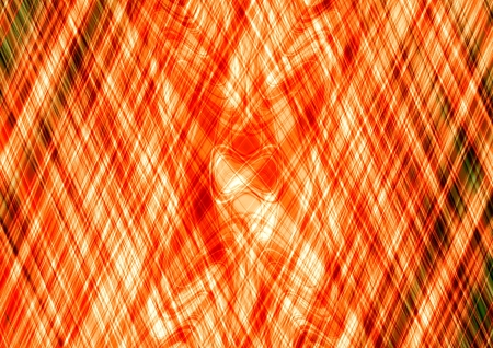 derived: Abstract orange cross lines pattern - A3 and derived dimensions