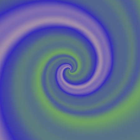 green swirl: Abstract dreamy smooth decorative purple green swirl - digitally rendered pattern - raster illustration