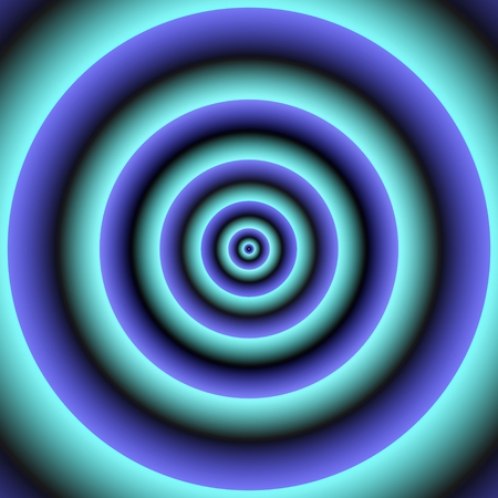 regular: Regular concentric centralized circles - abstract background Stock Photo