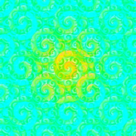 hintergrund gr�n gelb: Abstract t�rkis gr�n gelb Spirale Hintergrund