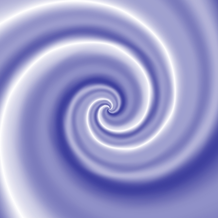 blue spiral: White blue spiral smooth abstract pattern Stock Photo