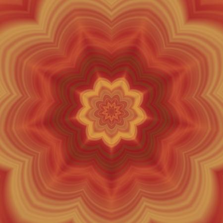 marqueteria: Azulejos decorativos flor ornamental abstracta en renacimiento del arte del estilo retro nouveau