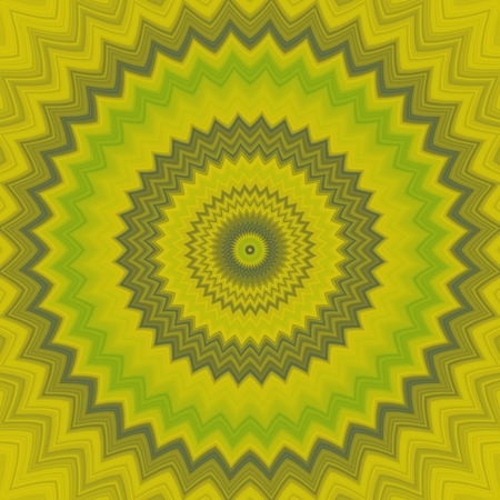 concentric: Yellow cogwheel regular concentric background