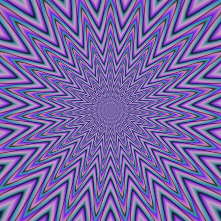 repeat: Purple blue concentric repeat star shape background