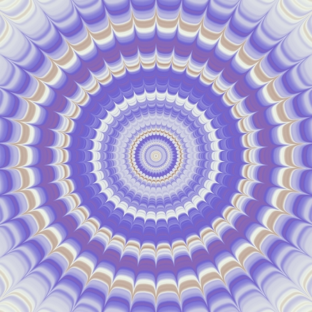 spiky: abstract spiky round concentric symmetrical pattern lilac