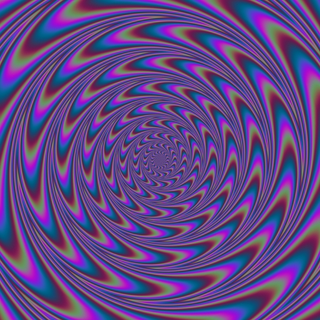 centralized: Abstract ornamental purple swirl background Centralized