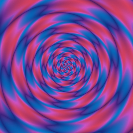 pink swirl: Abstract bicolor blue pink swirl - digitally rendered pattern