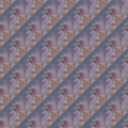 baroque pearl: Abstract seamless fractal decorative pattern with oblique stripes