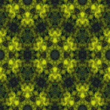 yellow black: Amarilla enlosables patr�n fractal negro Resumen