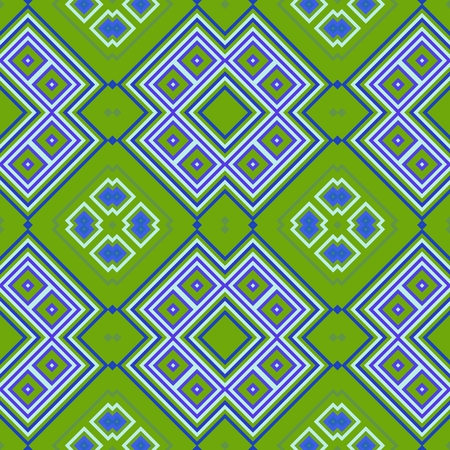 mirroring: Abstract regular tileable decorative geometric pattern