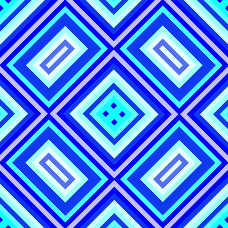 regular: Blue geometric regular seamless pattern