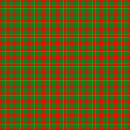 dishtowel: Red green checkered abstract pattern like a fabric
