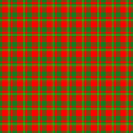 dishtowel: Red green checkered textile background