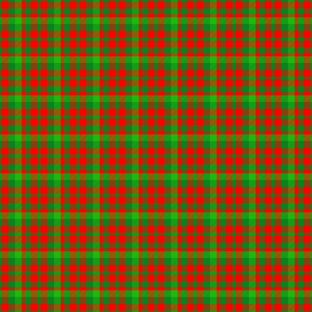 tileable: Red green checkered tileable pattern