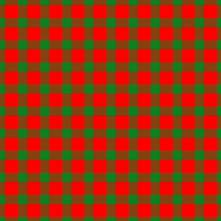 dishtowel: Red green checkered christmas pattern like a fabric