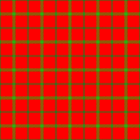 rosso verde: Red green checkered digitally rendered fabric texture