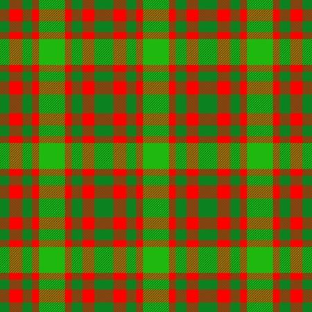 dishtowel: Red green checkered decorative pattern like a fabric