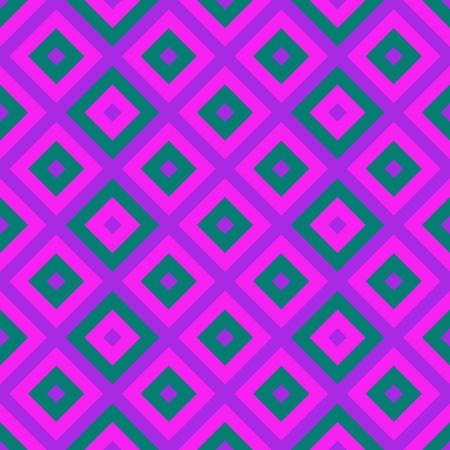 checkered pattern: Purple pink blue oblique checkered pattern