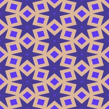 starlit: Abstract starlit lilac beige seamless pattern Stock Photo