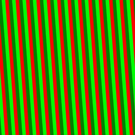 sidelong: Red green oblique striped pattern Stock Photo