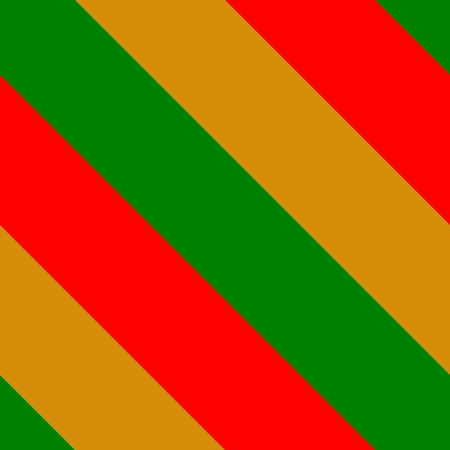 sidelong: Thick diagonally red green orange stripes background