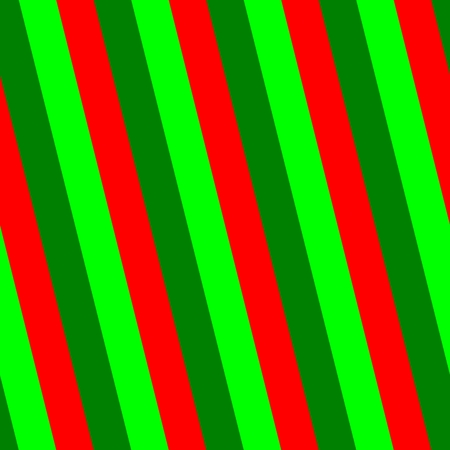 sidelong: Retro striped red green pattern Stock Photo