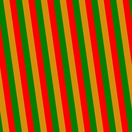 sidelong: Red green gold streaks pattern Stock Photo