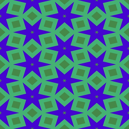 starlit: Abstract starry green violet pattern
