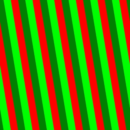 sidelong: Abstract decorative wallpaper with light and dark green and red stripes Stock Photo