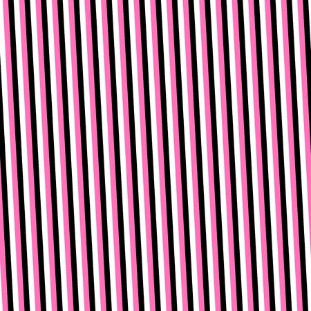 sidelong: Pink black white narrow stripes background