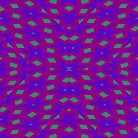 mirroring: Unpleasant purple regular mirroring geometric pattern Stock Photo