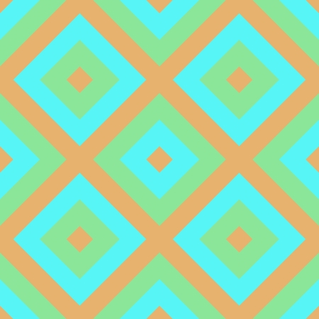 Beige turquoise checkered pattern