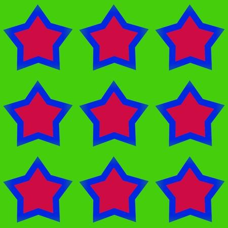 estrellas cinco puntas: Modelo abstracto con las estrellas de cinco puntas Foto de archivo