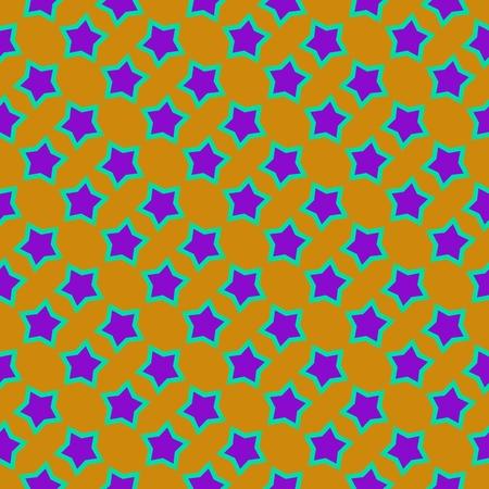 estrellas moradas: Patrón regular de estrellas de color púrpura sobre fondo amarillo