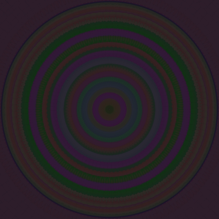 contemplation: Dark iridescent contemplation mandala