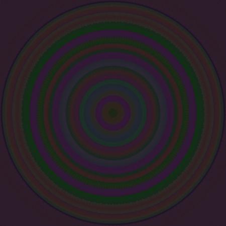 contemplation: Dark iridescent contemplation mandala