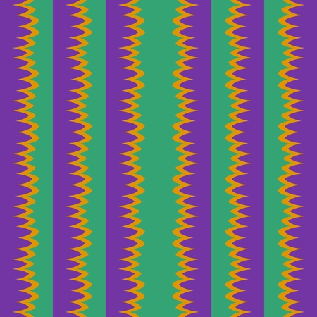 green yellow: Seamless vertical violet green yellow stripes Stock Photo