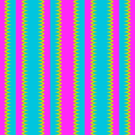 vertically: Vertically striped abstract pink blue yellow pattern