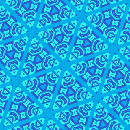 feasts: Decorative regular seamless blue snowflake pattern - digitally rendered festive wallpaper usable for celebration of winter feasts