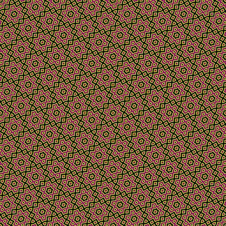 oblique: Abstract seamless oblique floral geometric pattern