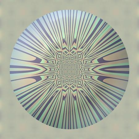 narrowing: Abstract blue gray pink phantasm pattern