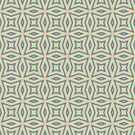regular: Abstract seamless beige gray regular symmetrical geometric pattern Stock Photo